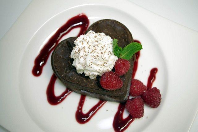fancy  sweet snack foods   Torte a forma di cuore