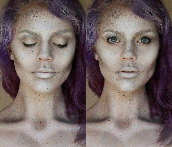 The 25+ best Ghost makeup ideas on Pinterest | Vintage halloween ...