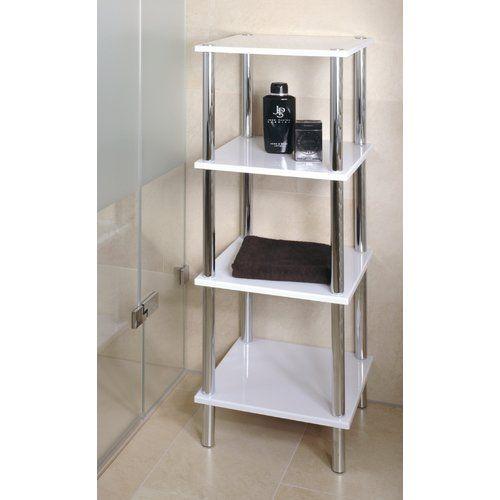 39 cm x 107 cm Badregal Silverdown Jetzt bestellen unter: https://moebel.ladendirekt.de/bad/badmoebel/badregale/?uid=b97c1cb3-f2da-5849-a4c1-302f7be2c488&utm_source=pinterest&utm_medium=pin&utm_campaign=boards #badregale #bad #badmoebel #storage #bathroom