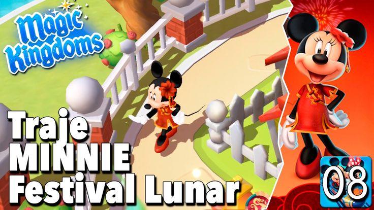 Traje de Minnie Festival Lunar / Juego Disney Magic Kingdoms - Gameplay