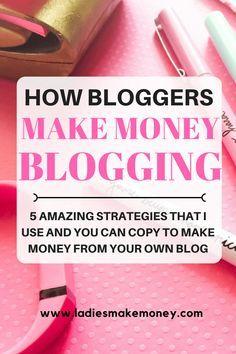 How to make money blogging for beginners. #startablog #makemoneyonline #blogtomakemoney