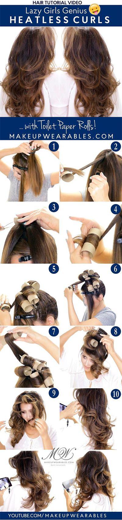 Pleasing 1000 Ideas About Overnight Hairstyles On Pinterest Bandana Hairstyles For Men Maxibearus