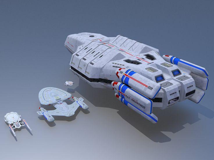 Federation Carrier Starship Uss Valkyrie Bridge 5 By Dibujos Para