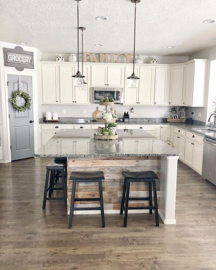 43 concrete countertops kitchen colors white cabinets ideas 15 farmhouse kitchen design on farmhouse kitchen decor countertop id=82878