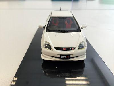 日本自動車デザインコーナー 「Japanese Car Design Corner」: Honda Civic Type-R EP3 model by WiT's