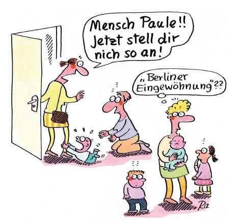 Cartoon: von Renate Alf – Mathias Schultz