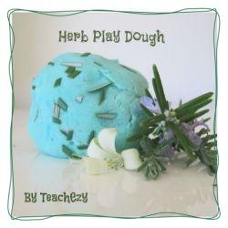 Play Dough Recipe-Herb