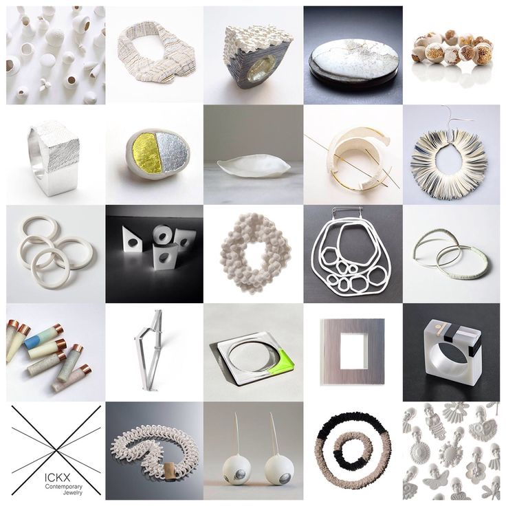 My jewelry on WhiteExhibition at Ickx in Bruxelles