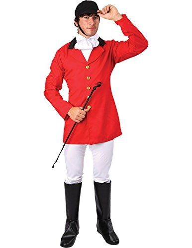 From 20.83 Orion Costumes Mens Fox Hunter Fancy Dress Costume Stag Night Standard