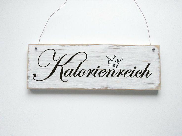 KALORIENREICH Dekoschild Türschild von DÖRPKIND auf www.doerpkind.de