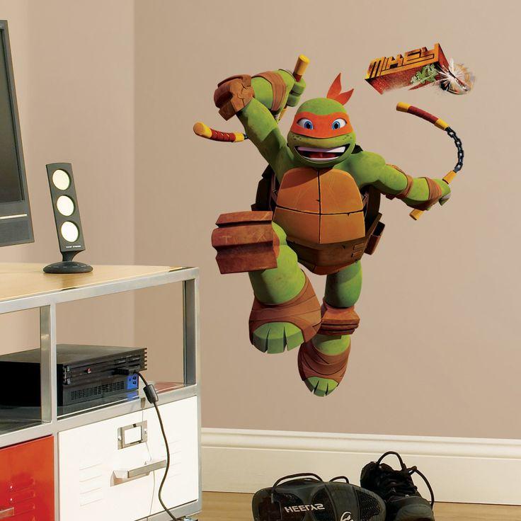 Ninja Turtle Room Decor Walmart