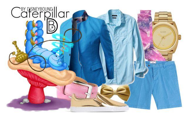 """Caterpillar"" by leslieakay ❤ liked on Polyvore featuring Nixon, AMI, Banana Republic, pakerson, Zara, mens, men, men's wear, mens wear and male"