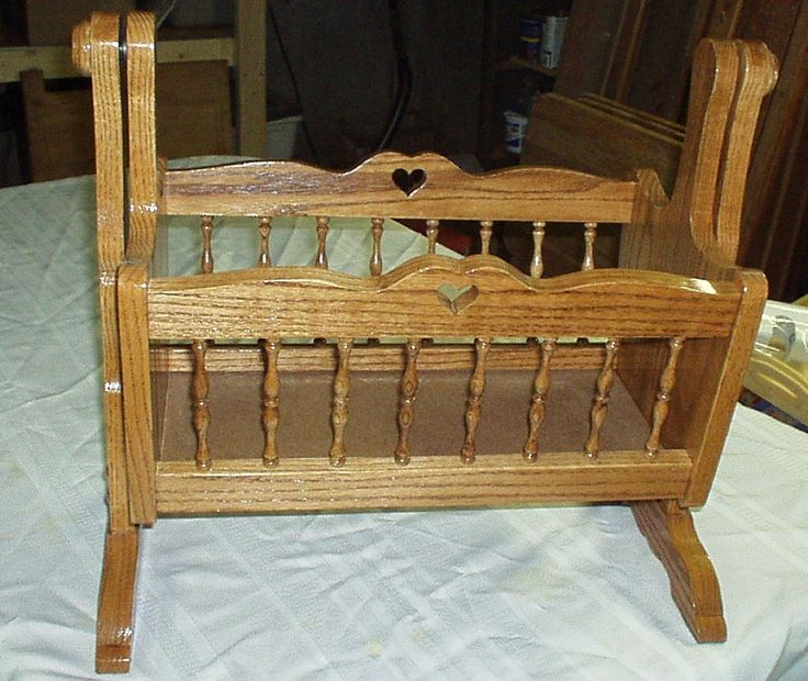54 Best Images About Wooden Baby Cradles On Pinterest
