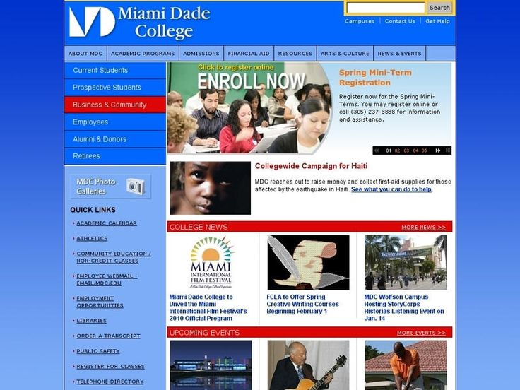 Rankings, Admissions Statistics, And Tuition Of Miami Dade College In Miami,  FL Part 70