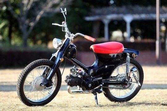"""""""Fermion""""  Super Cub custom by Cone Custom Bike, Japan"""