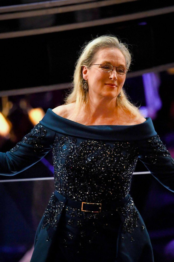 "Watch Meryl Streep Receive a Standing Ovation For Her ""Overrated"" Career at the Oscars"