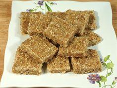 Flax Seed Burfi (Flaxseed Healthy Bar)   Manjula's Kitchen   Indian Vegetarian Recipes   Cooking Videos