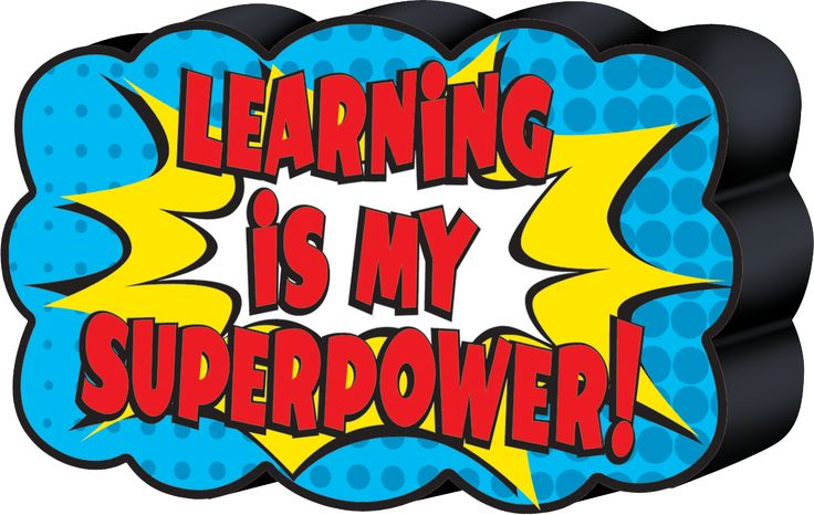 """Superhero Magnetic Whiteboard Eraser - Sticks to your magnetic whiteboard. Debossed lettering makes the text pop! Approx. 4"""" x 2 1/2"""" x 7/8"""""""