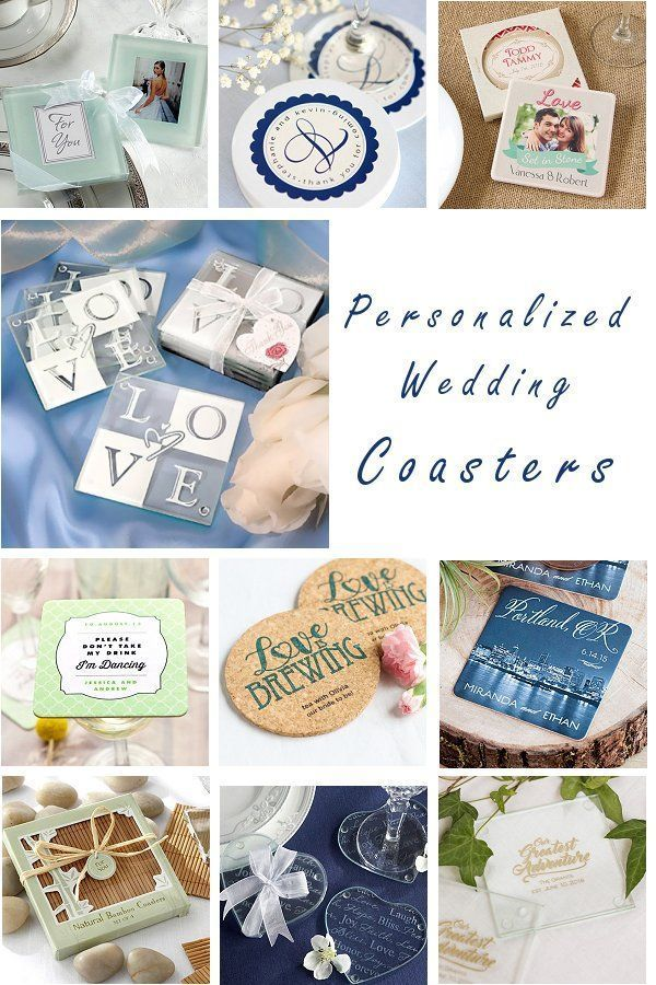 Elegant And Practical Personalized Wedding Favor Coasters Are Wonderful Gifts Wedding Coasters Favors Wedding Bottle Opener Favors Personalized Wedding Favors