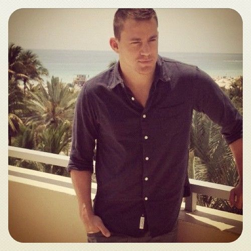 #ChanningTatum At Miami's Loews Hotel for the #MagicMike press tour. Next stop…Chi-town! (Taken with Instagram)