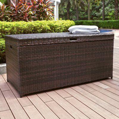 Keter Westwood 150 Gallon Resin Box Reviews Wayfair Deck