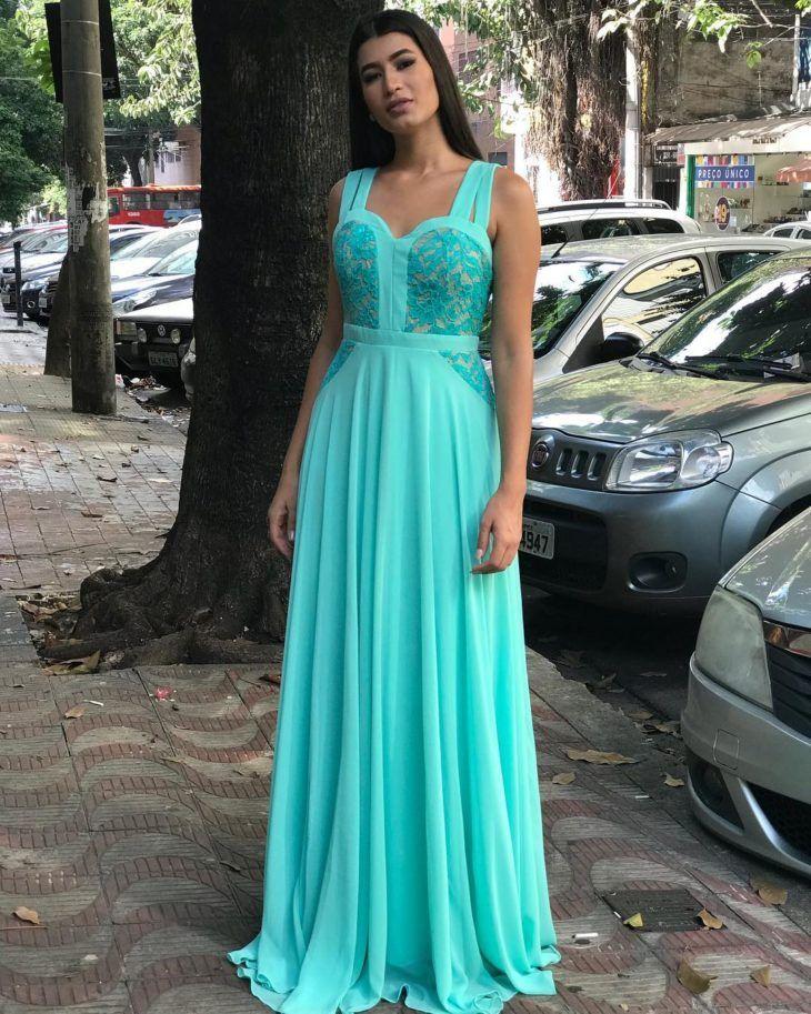 b4afc3665 Vestido azul Tiffany: 80 maneiras de usar essa cor vibrante e sofisticada