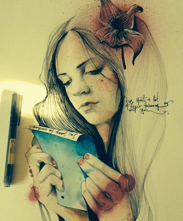 Martineken Blog • Wonderful illustrations by Jari Di Benedetto