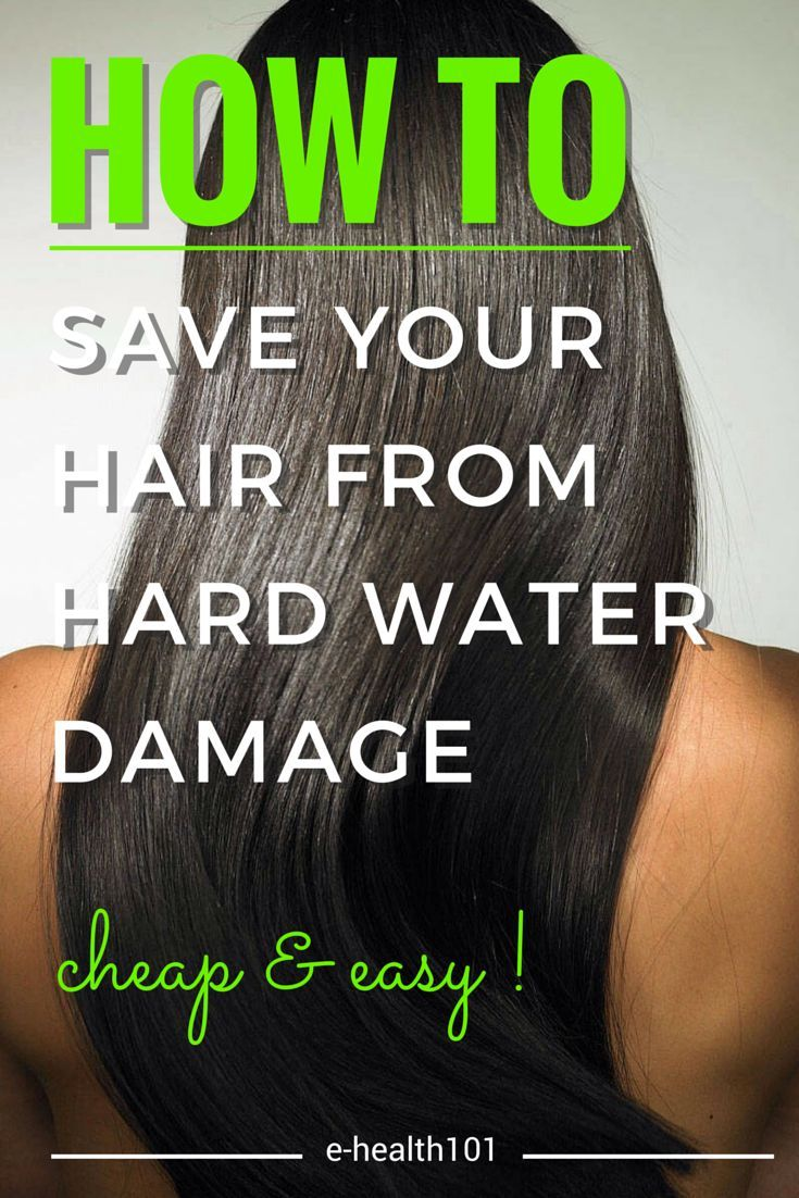 How To Save Your Hair From Hard Water Damage (Cheap