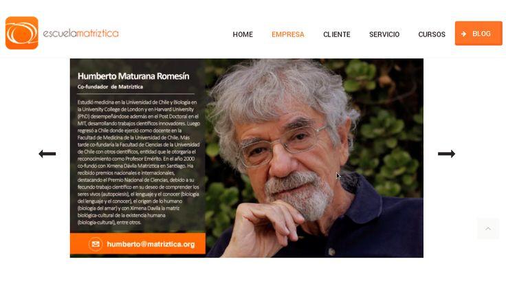 THEORIA CURSO _ HUMBERTO MATURANA 'BIOLOGÍA CULTURAL'  http://theoriaucm.blogspot.com/2014/04/curso-humberto-maturana-biologia.html