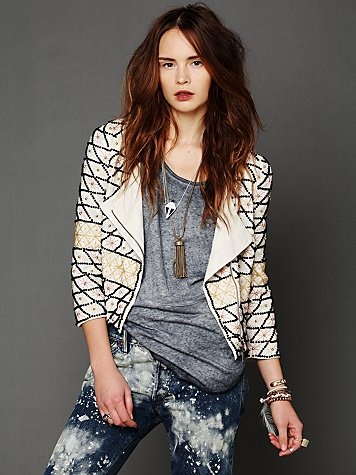 Crossed Paths Beaded Jacket from Free People. BAM!