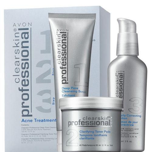 Formulated with a blend of key ingredients: - Salicylic Acid*  OTC active treatment to clear, reduce & help prevent acne blemishes.*Scrub & Lotion only.- Glycolic Acid  An effective skin retexturizer.- Exclusive Zinc Hexapeptide-11  Designed to help control surface oil in oily-prone skin.3 steps to skin that's clearer in just 3 days!How to use: Step 1 Cleanse Deep Pore Cleansing Scrub contains our exclusive Oil Control System. Exfoliates pores; leaves skin