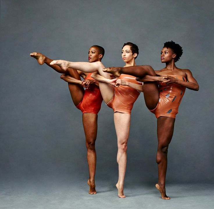 Alvin Ailey American Dance Theater's Akua Noni Parker, Sarah Daley and Rachael McLaren. Photo by Andrew Eccles