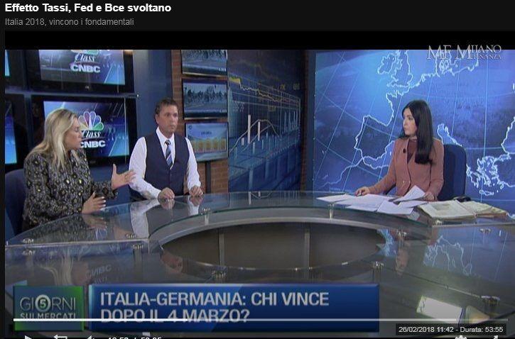 << EFFETTO #TASSI ... #Fed e #Bce volano >>  puntata del 23 feb    http://video.milanofinanza.it/classcnbc/5-giorni/Effetto-Tasst-Fed-e-Bce-svoltano-75544/  #marinavalerio #classcnbc #5giornisuimercati #unicredit #mediobanca #ftse #mib #piazzaaffari #italia #germania #elezioni #economia #finanza #caruso #francescocaruso #mercatifinanziari #emergenti #mercatiperiferici #analisitecnica #fundmanager #assetmanagement #privatebanker #pf #consulentifinanziari #cicliemercati #claudiasegre