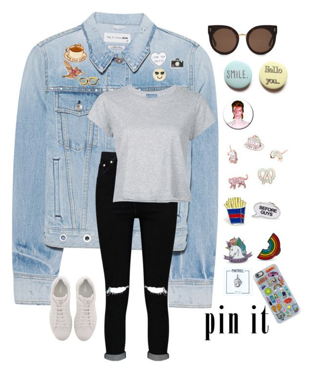 """Pin It"" by progressiveprep on Polyvore featuring rag & bone, Design Lab, Chico's, PINTRILL, Punky Pins, FOSSIL, Berylune, Casetify, Boohoo and Fendi"