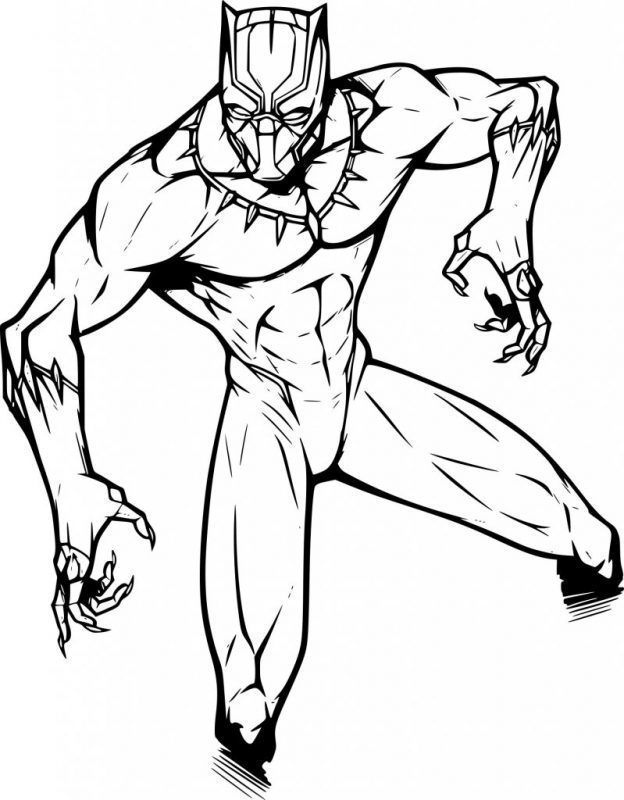 Coloriage Black Panther Panther Pictures Coloring Pages Black Panther Images