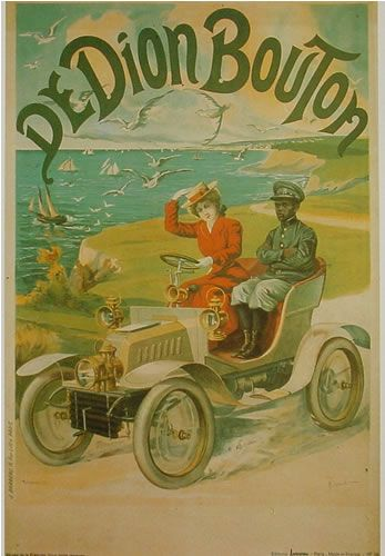Affiches anciennes voitures