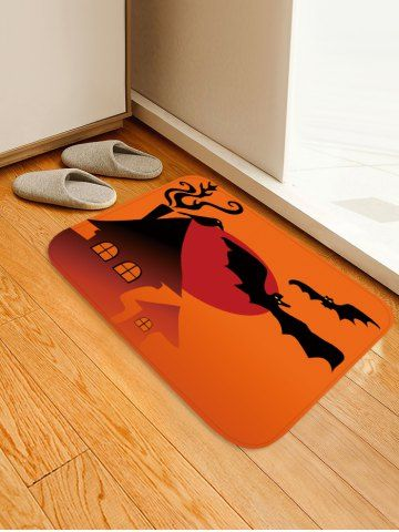 Night Bat Pattern Anti Skid Area Rug