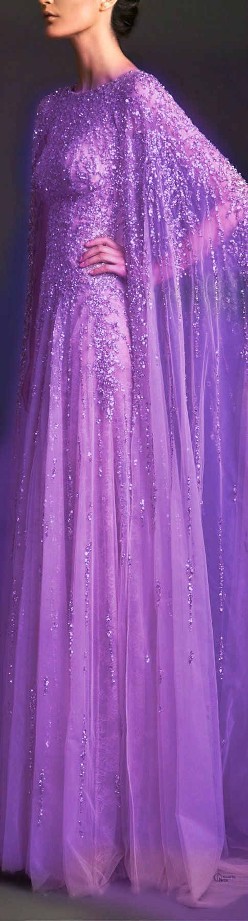 Gown  LILAS  PERLAS