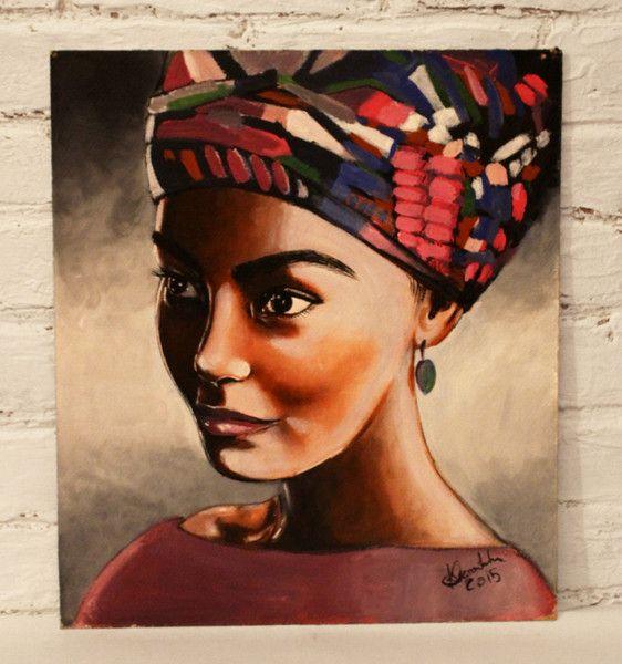 Obraz akrylowy Afryka 2 - KamaZawadzka - Obrazy akrylowe