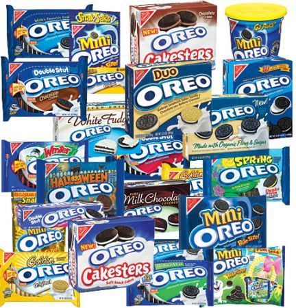whole segment on CBS Sunday Morning on the 100 year history of the Oreo. Yum! Too bad I don't allow myself to buy them :(