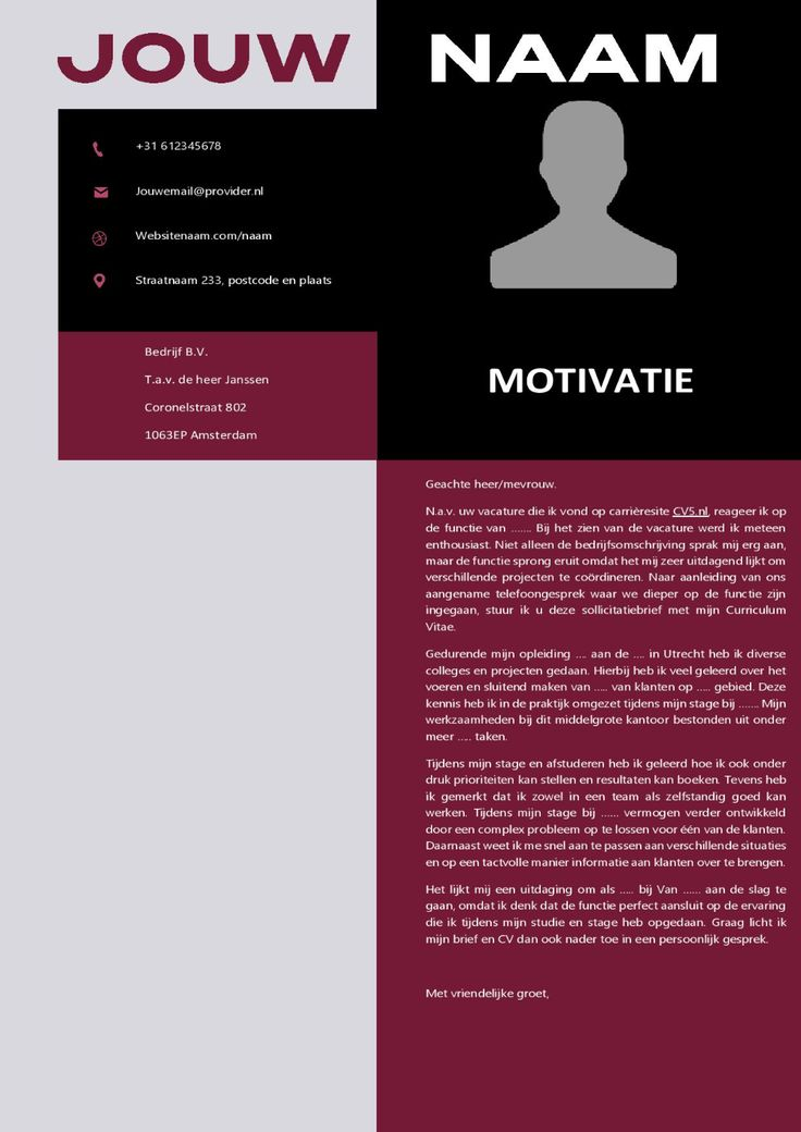 CV Template Unique Cv template, Templates, Unique