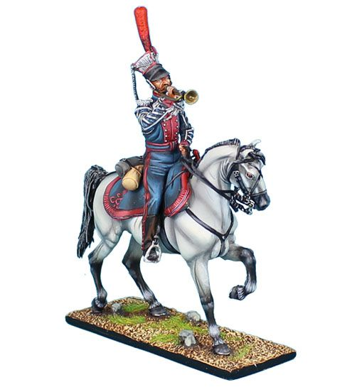 First Legion Napoleonic Toy Soldiers - Russian Litovsky Uhlans