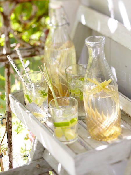 Ingwer-Limetten-Limo