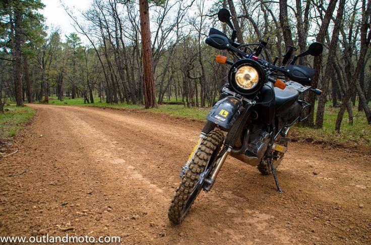 Suzuki DR650 in Arizona Forests