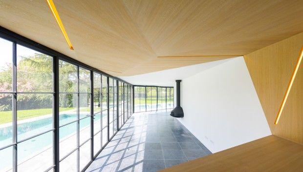 Poolhouse  made by FABRIKAAT design by Van Staeyen Interieur