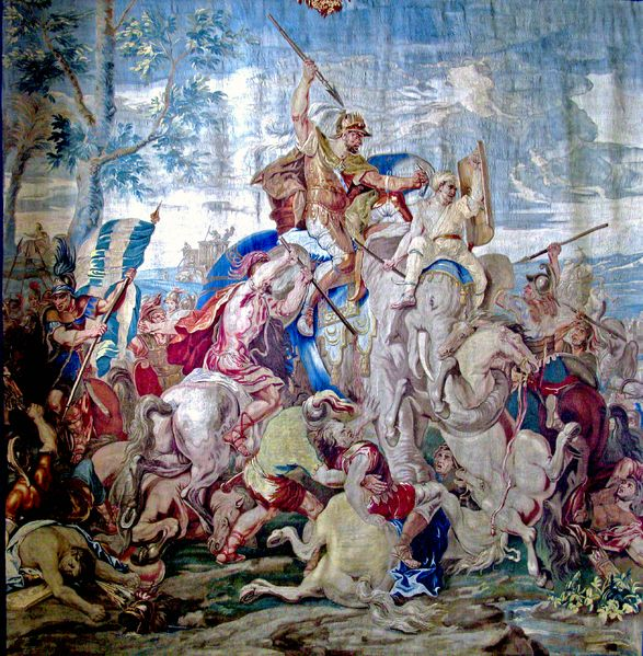 Flemish tapestry, first half of 18th century Battle of Gaugamela Part of Wars of Alexander the Great   Battle of Gaugamela, Date	October 1, 331 BC