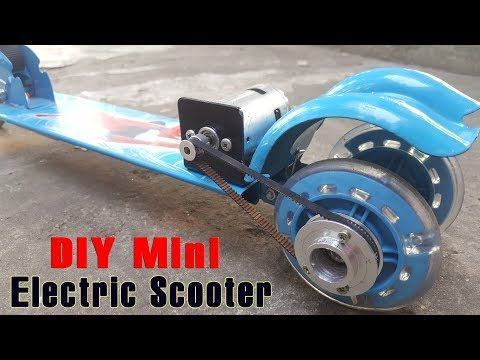 How To Make A Electric Scooter At Home using 775 Motor - YouTube