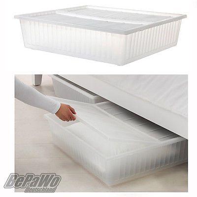 IKEA-GIMSE-BOX-Bettkasten-Unterbettkommode-Kommode-Unterbett-mit-Deckel-NEU