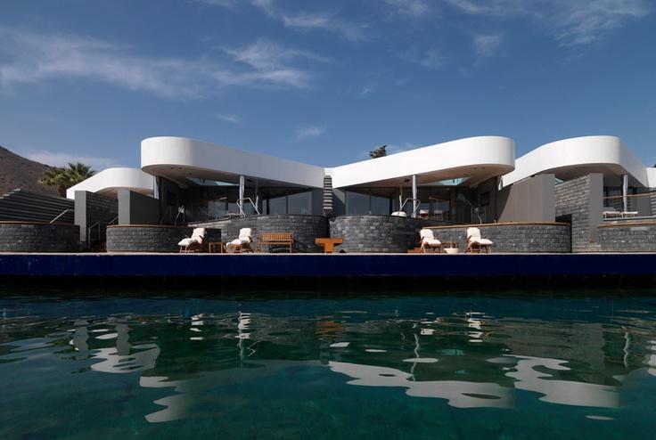 """Enrico Cano """"Davide Macullo: Elounda Beach Hotel"""" Crete, Greece 2008."""