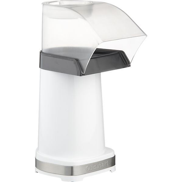 I have an air popper and we use at least 3 times a week!!! LOVE  -Cuisinart® Air Popcorn Maker in Specialty Appliances | Crate and Barrel